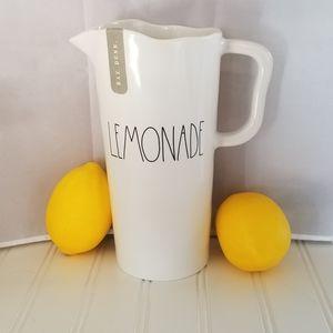 Rae Dunn Melamine Lemonade Pitcher NEW